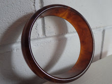 Load image into Gallery viewer, Genuine Honey Amber Bakelite Bangle Bracelet