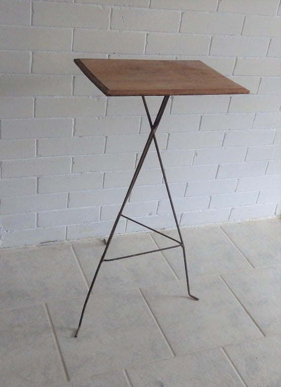 Roy style Wire Frame Accent Table