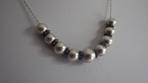 Sterling Silver Unique Ball Necklace & Chain