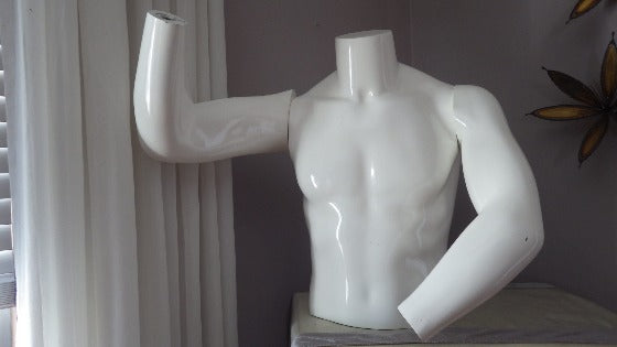 Vintage Mannequin Male Headless Torso NY