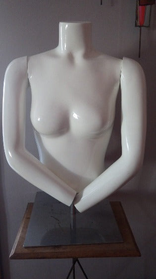Vintage Mannequin Female Headless Torso NY