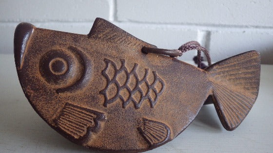 Early Antique Cast Iron Stylized Fish Piece