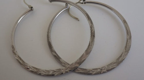 Bond Boyd Sterling Silver 925 Hoop Earrings