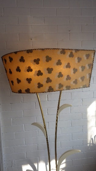 Mid Century Modern 1950's Majestic Floor Lamp with Shade