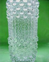 Hermanova Hut Candle Glassworks Wax Vase