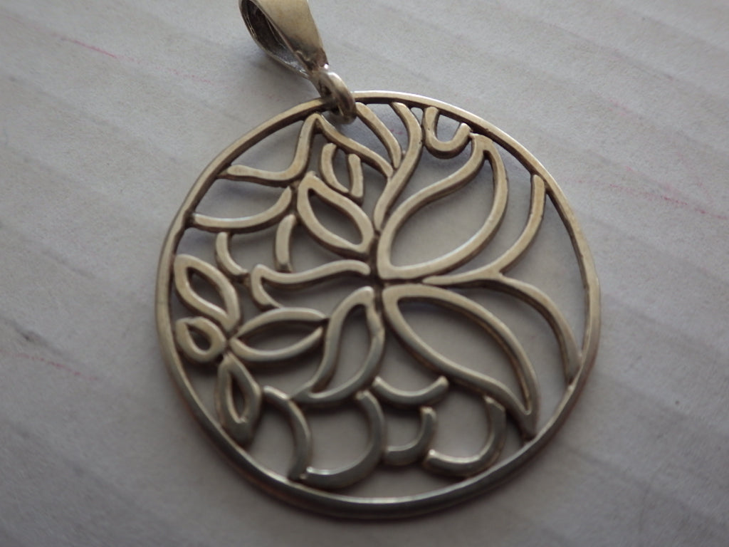 VINTAGE STERLING SILVER TREE OF LIFE 925 NECKLACE PENDANT
