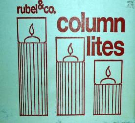 Rubel & Co. Column Lites Candle Holders