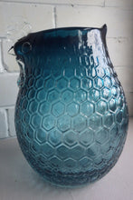 Load image into Gallery viewer, Italian Honey Comb Art Glass Chicken Shape Vase
