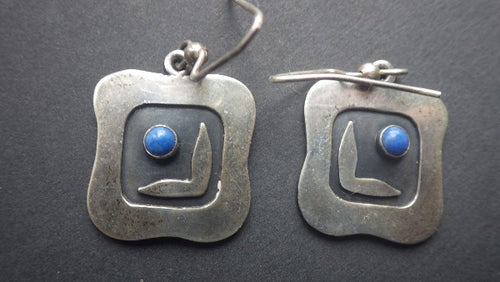Chris Anderson Sterling Silver Earrings