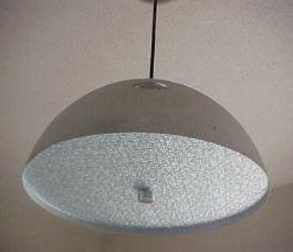 Danish Modern Chrome Pendant Ceiling Lamp