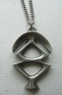 David Bendy Denmark Sterling Silver Pendant