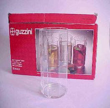 Load image into Gallery viewer, Guzzini Acrylic Plastic Tall Glasses Italy