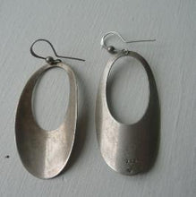 Load image into Gallery viewer, Rebajes Modernist Sterling Silver Dangle Earrings