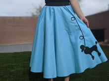 Load image into Gallery viewer, 2-Piece Adult Set Poodle Skirt & Scarf