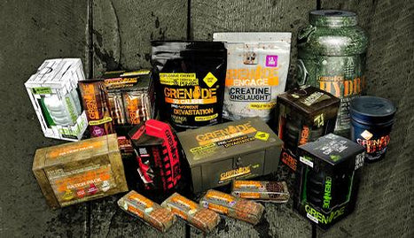 Grenade® Reinforcements arrive