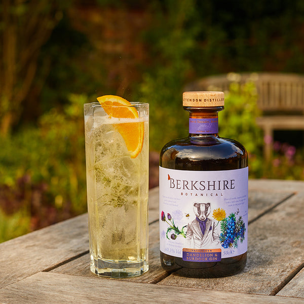 Berkshire Botanical Dandelion and Burdock Fizz