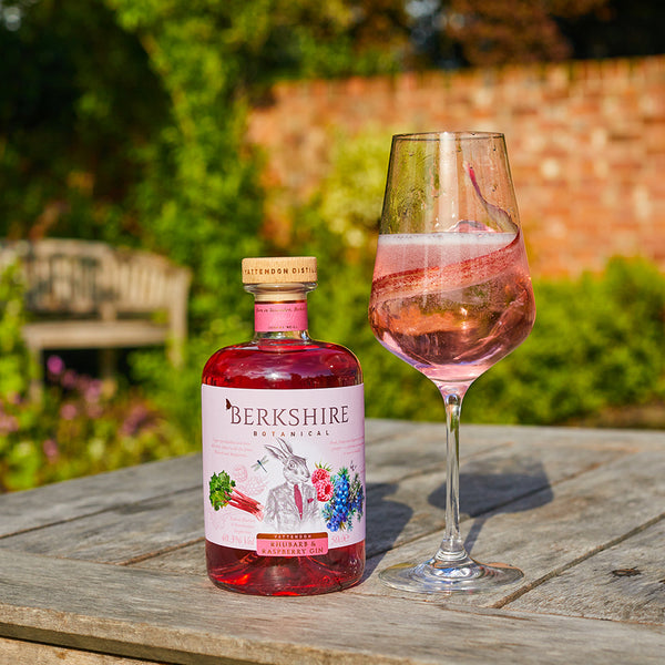 Berkshire Botanical Rhubarb and Raspberry Blush Spritz