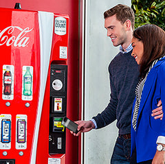 Coca-Cola Vending Machine Beacons