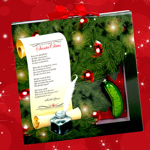 photo regarding Christmas Pickle Story Printable known as The Xmas Pickle Culture Reserve for Young children Tale The