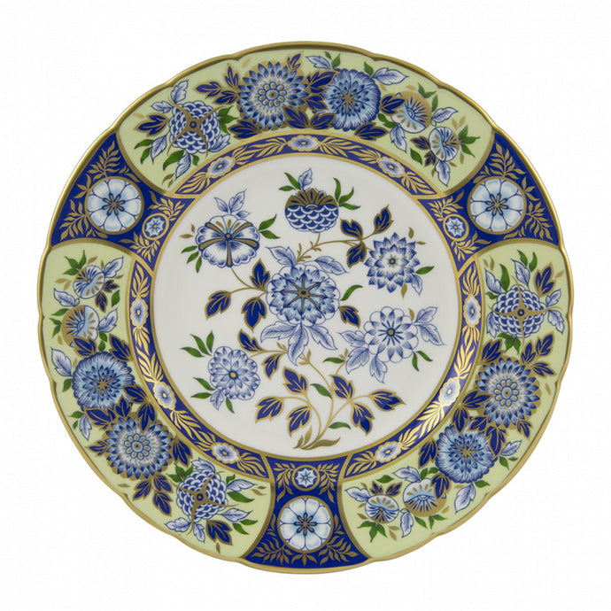Imari Accent Midorie Meadow Plate