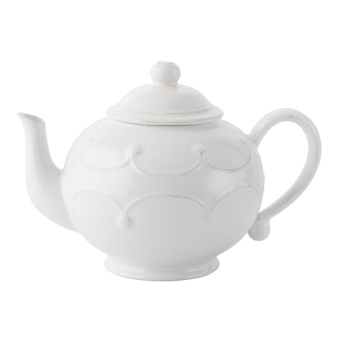 Berry & Thread Whitewash Teapot