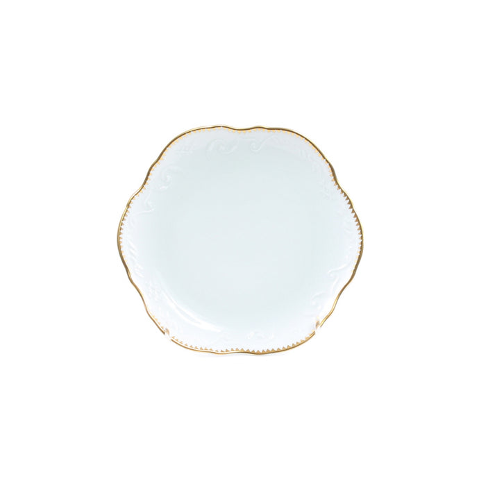 Simply Anna Gold Bread & Butter Plate
