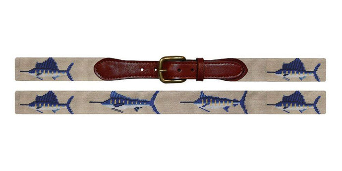 Billfish Khaki Needle Point Belt