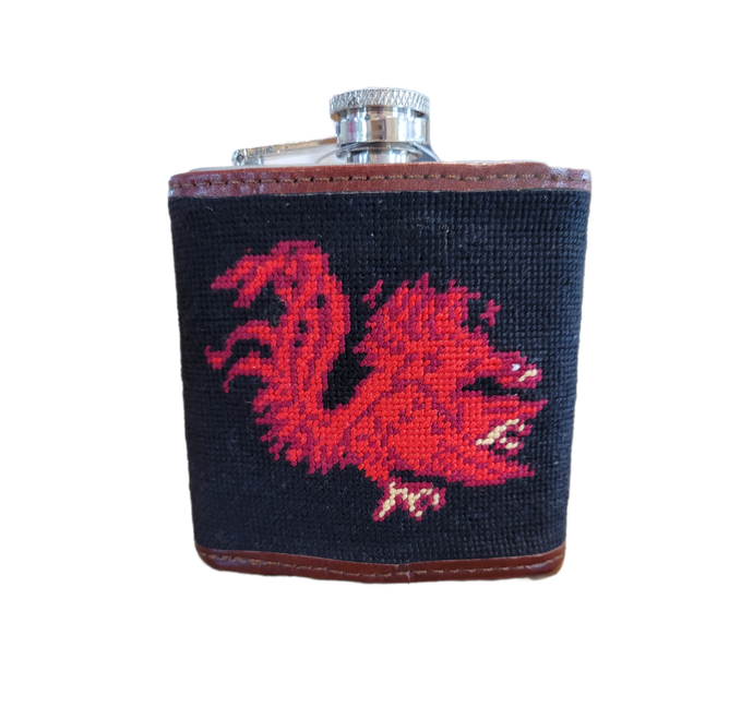 USC Needle Point Flask