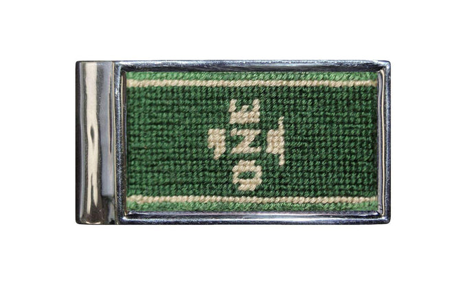 Dollar Bill Needle Point Money Clip