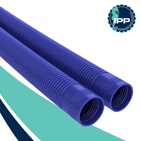 Poolmaid voyager and stealth automatic swimming pool cleaner leader hose blue
