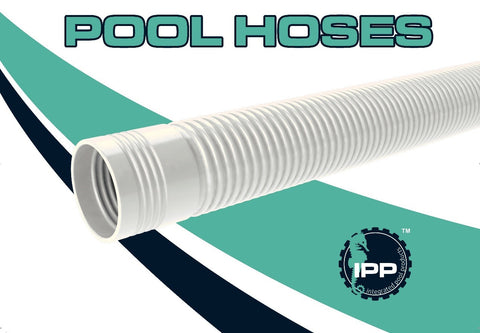 Poolmaid and Voyager swimming pool cleaner leader hose white