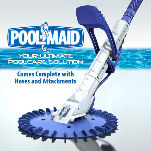 Poolmaid Automatic Side Suction Swimming Pool Cleaner Complete $129.00