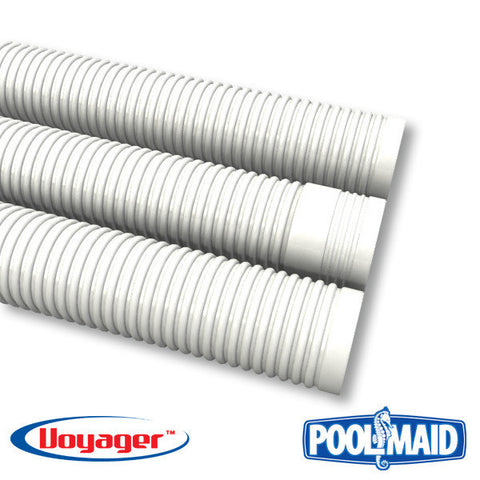Voyager swimming pool cleaner sectional pool hose -10 pack (qty 10) white