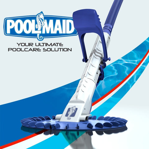 POOLMAID AUTOMATIC SUCTION VACUUM POOL CLEANER (HEAD ONLY)ONLY LEADER HOSE INCLUDED