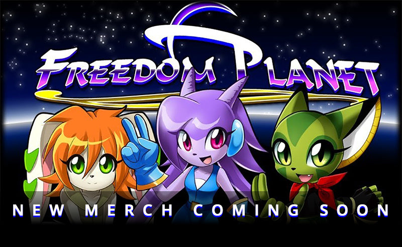 New Freedom Planet Apparel Coming Soon!