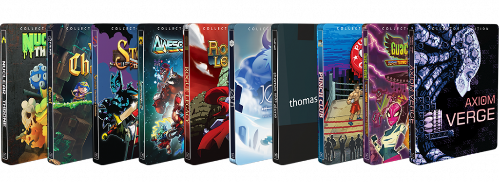 IndieBox Steelbook Gametrust Series