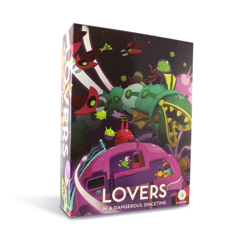 Lovers in a Dangerous Spacetime - IndieBox