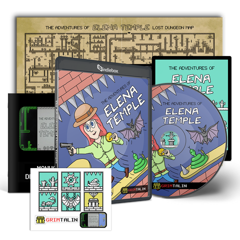 The Adventures of Elena Temple: Super Limited Edition