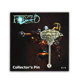 Forced Volcanic Hammer Collector's Pin - IndieBox