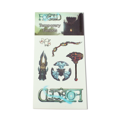 Forced Temporary Tattoos - IndieBox