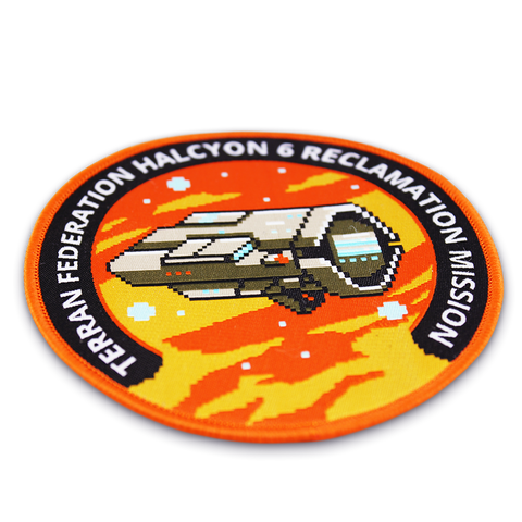 Halcyon 6 Terran Federation Mission Patch - IndieBox