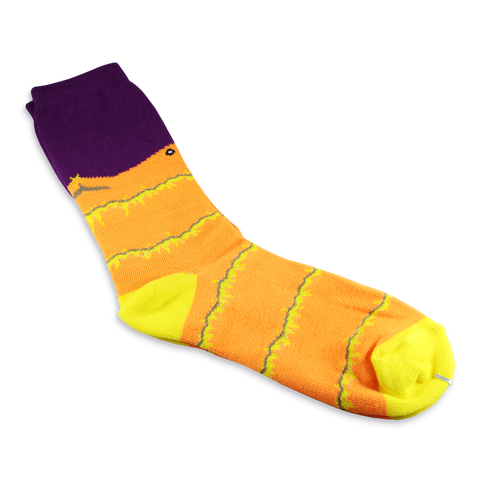Risk of Rain: Magma Worm Socks - IndieBox