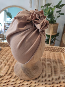 Looks by Luks Turban No.1 Organic Caffe Latte