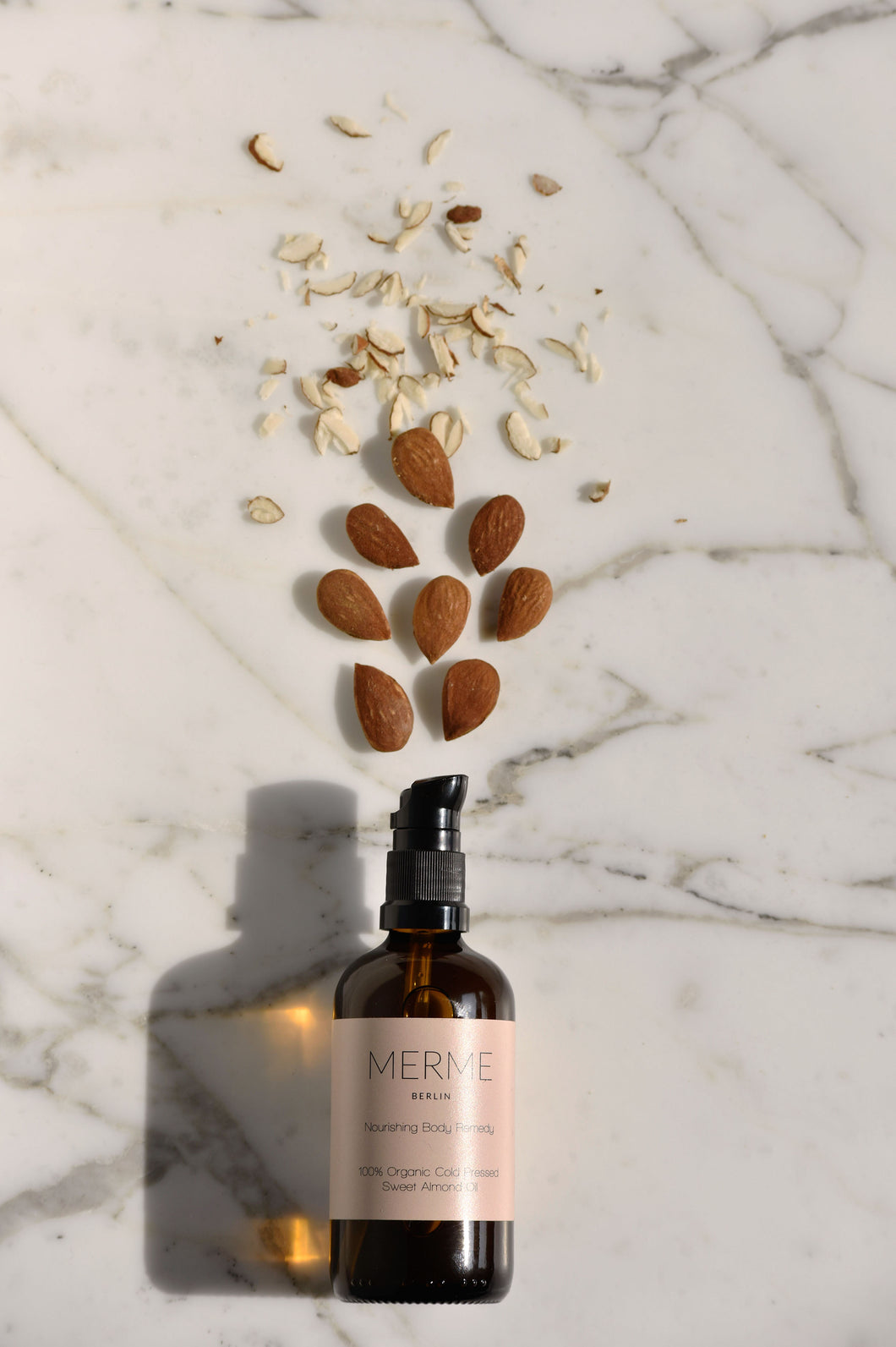 MERME Berlin NOURISHING BODY REMEDY - 100% Organic Sweet Almond Oil