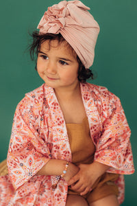 Looks by Luks Turban No.1 Bamboo Light Pink