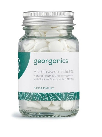 Georganics Mouthwash Tablets - Spearmint