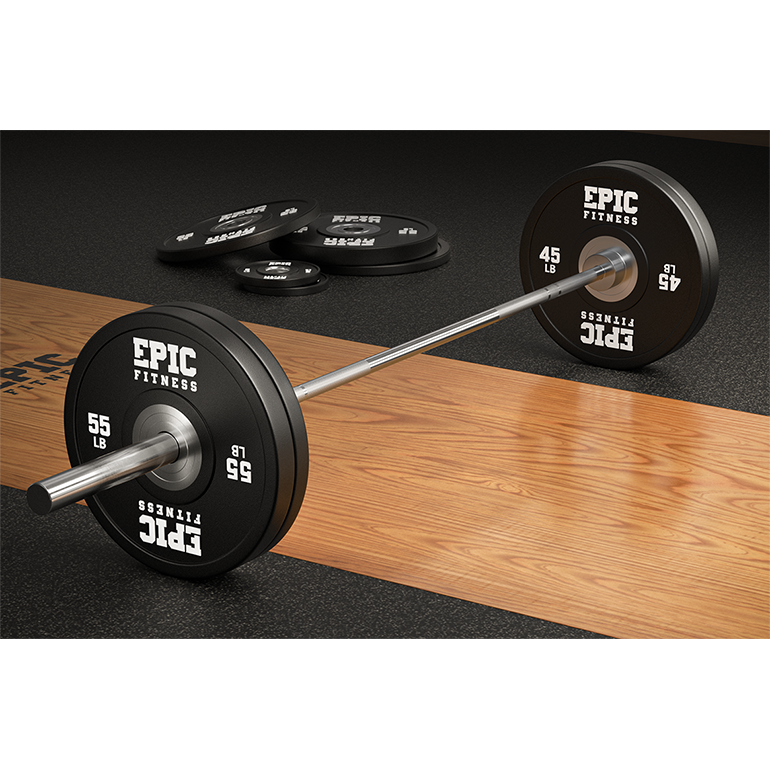 Load image into Gallery viewer, 28MM 20 Kilogram/45 Pound Professional Chrome Barbell