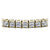 4.00-13.50 CT Princess Cut Diamonds - Tennis Bracelet