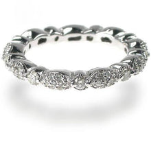 Load image into Gallery viewer, 1.20 CT Round Cut Diamonds - Eternity Ring
