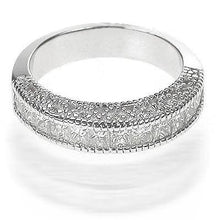 Load image into Gallery viewer, 1.50 CT Round & Princess Cut Diamonds - Wedding Band